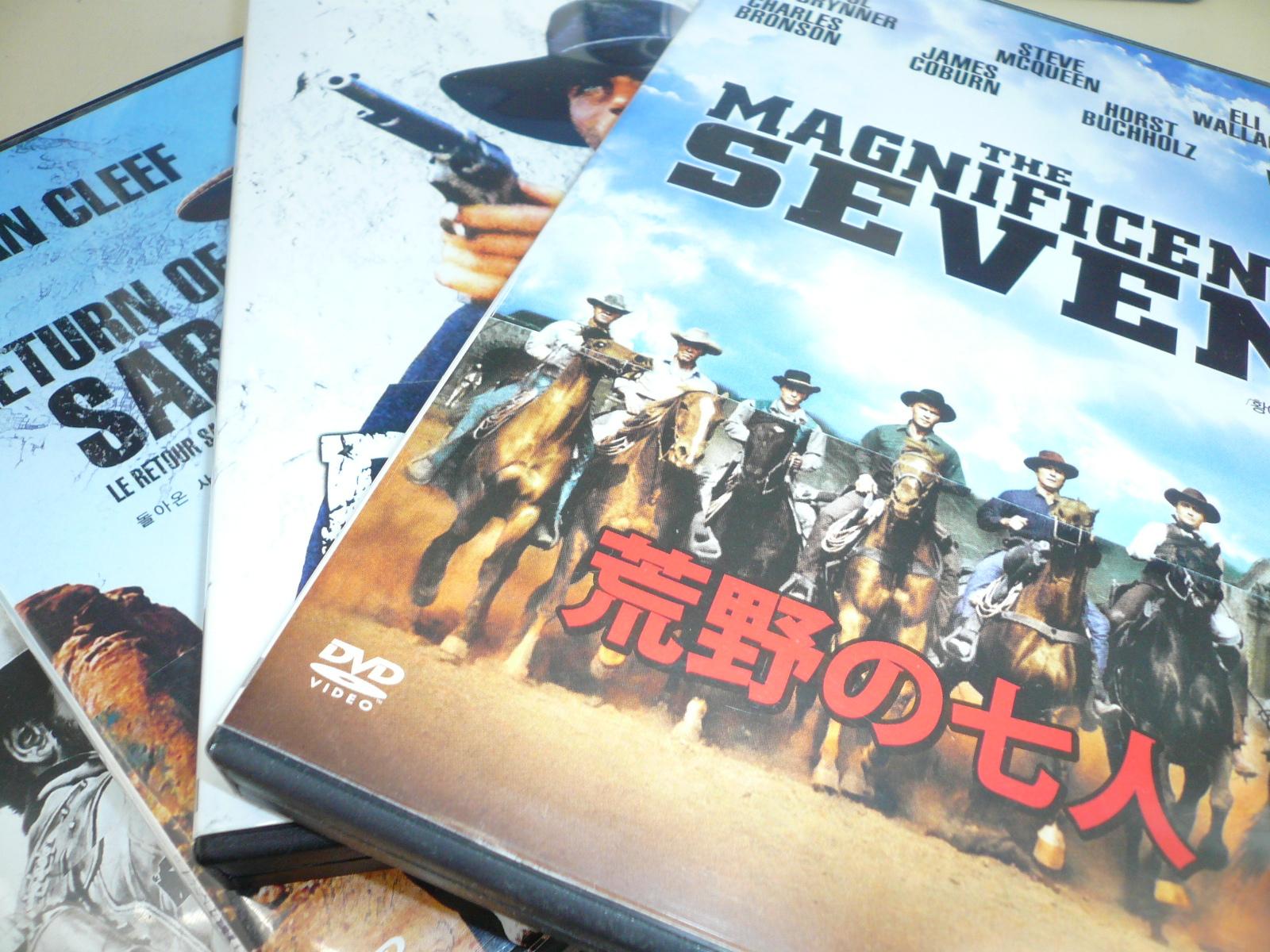 買取情報!「西部劇」DVD!リサイクルショップフライズ佐賀店