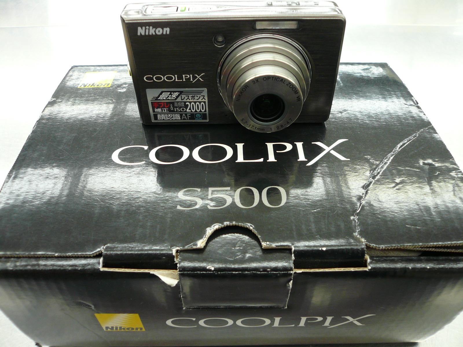 買取情報!「デジカメ」COOLPIX S500!リサイクルショップフライズ佐賀店