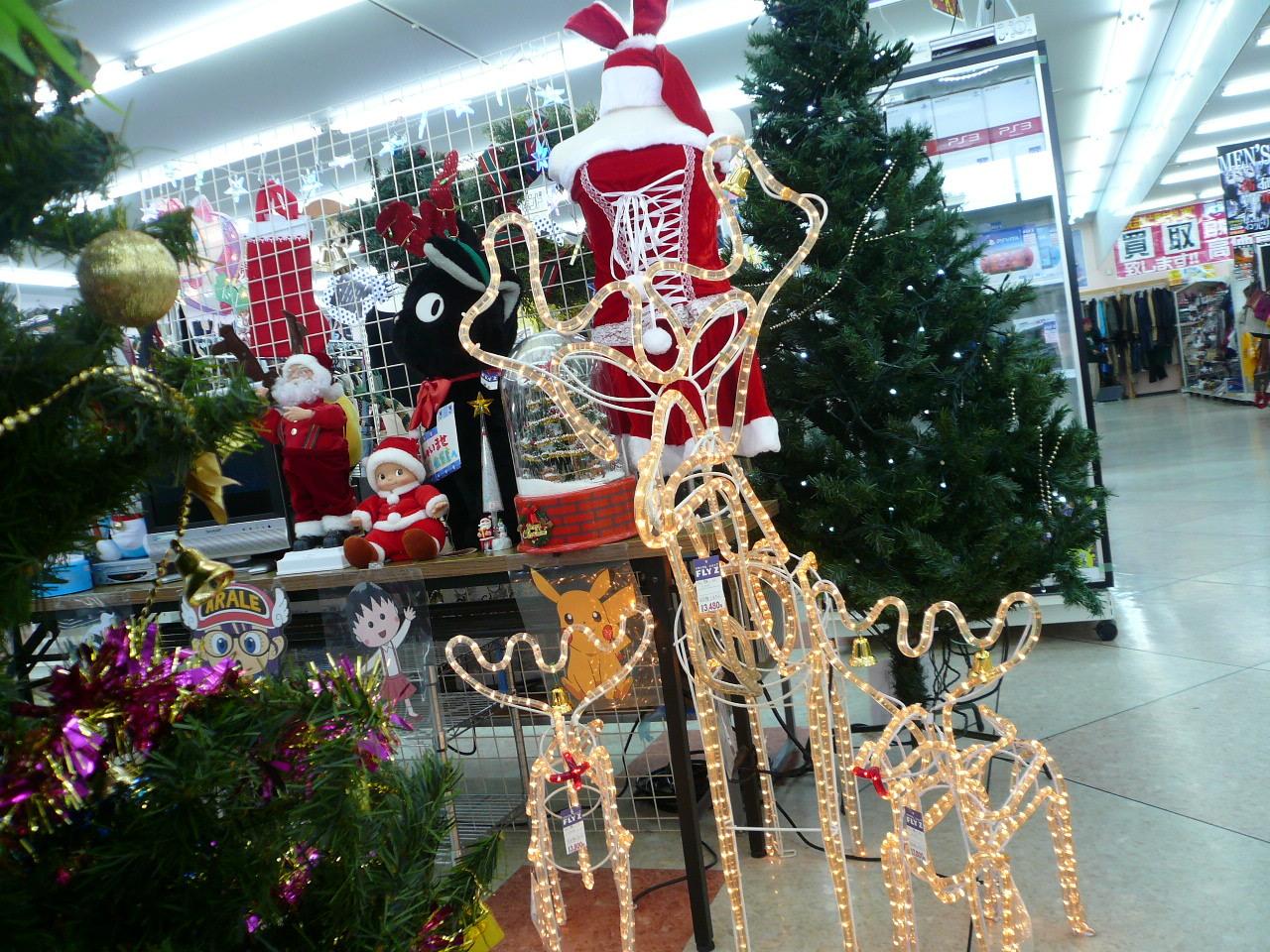 クリスマスグッズ を売るなら  総合 リサイクルショップ フライズ佐賀店 佐賀市 買取り