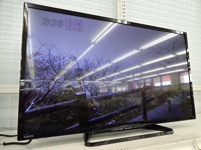 シャープ 液晶 テレビ を売るなら  総合 リサイクルショップ フライズ 佐賀 店 佐賀市 買い取り 査定