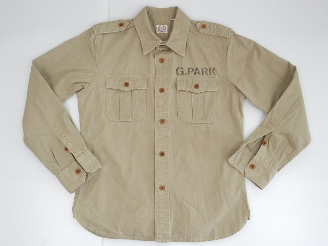 FLAT HED フラットヘッド GLORY PARK ワークシャツ size-34 買取&販売情報!フライズ鳥栖店!