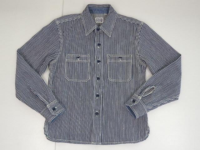 FLAT HEAD フラットヘッド ヒッコリー ワークシャツ size-36  CO-21W 買取&販売情報!フライズ鳥栖店!