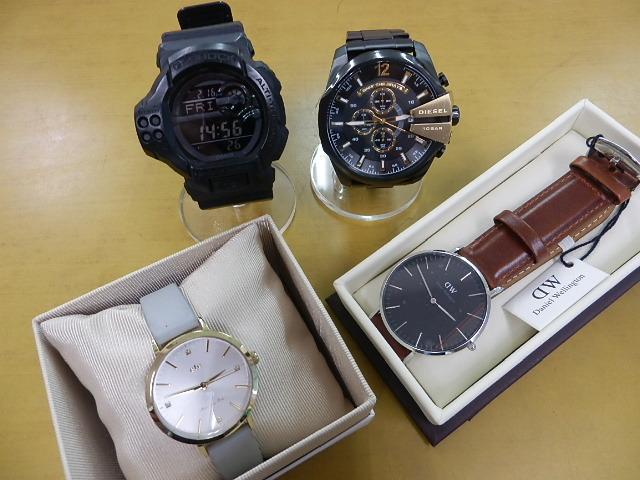 腕時計を買い取りました。まとめてご紹介です。フライズ鳥栖店