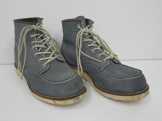 RED WING 8143 スレートブルー スエード アイリッシュセッター ブーツ モックトゥ 8.5E 買い取りました。フライズ鳥栖店