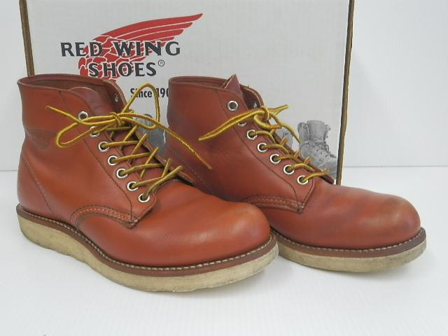 RED WING 8166-1 6.5D ORO RUSSET レッドウイング オロラセット プレーントゥ 買い取りました。フライズ鳥栖店