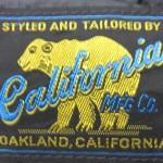 リサイクルショップ フライズ 久留米 店  アメカジ 古着 買取 情報 レインボーカントリー California mfg  オールレザーダウンベスト