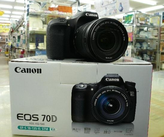 Canon EOS 70D を売るなら 総合リサイクルショップフライズ佐賀店 佐賀市 買取り情報