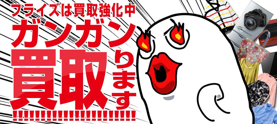 福岡県と佐賀県のリサイクルショップ「リサイクルショップフライズ」では、家電・古着・貴金属・ギフト品・パソコン・雑貨・楽器等安心・納得の価格にて買取り致します。見積無料!大型家電出張買取り致します。
